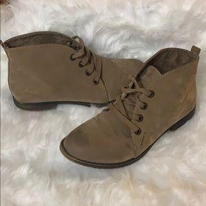 BlowFish Lace Up Boots Size 7.5